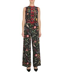 red valentino sleeveless jumpsuit