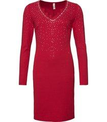 abito da sera con pietre (rosso) - bodyflirt boutique