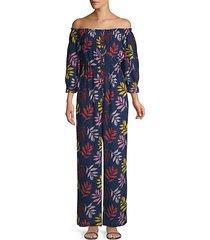 alexa cotton crepe jumpsuit