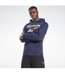 sweater reebok sport identity big logo hoodie