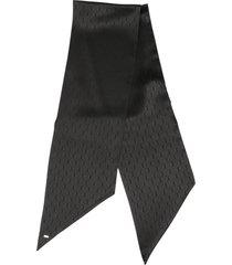 saint laurent monogram scarf lavalliere
