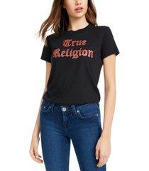 true religion bedazzled logo top