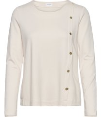t-shirt long-sleeve t-shirts & tops long-sleeved crème gerry weber