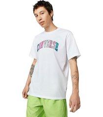 camiseta converse pride white