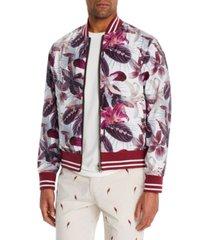 brooklyn brigade men's slim-fit lilia reversible bomber jacket