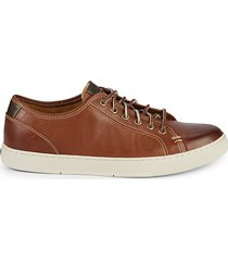 gold cup sport casual leather sneakers