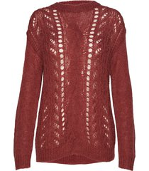 bella kass knit gebreide trui rood bruuns bazaar