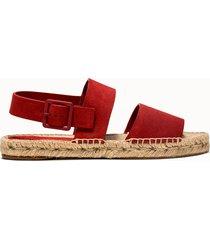 paloma barcelo' sandali lola colore rosso