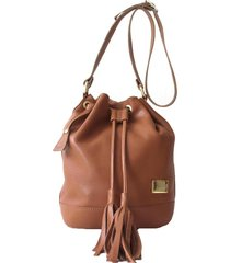 bolsa saco laceê blm055 caramelo