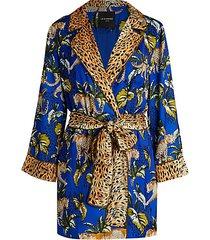 moonshadows short robe dress