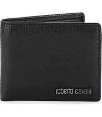 pebbled leather bifold wallet