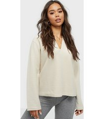 filippa k reversed split sweatshirt överdel