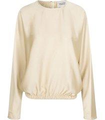 barbi blouse swan
