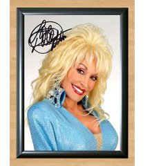 dolly parton coat of many colors signed autographed a4 print poster photo