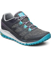 antora high rise shoes sport shoes running shoes blå merrell