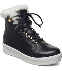 mount baker lace up shoes boots ankle boots ankle boot - flat svart canada snow