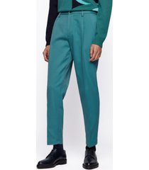 boss men's kirio relaxed-fit trousers