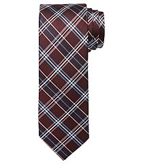 1905 collection plaid tie - long