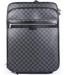 louis vuitton pegase 55 damier graphite suitcase