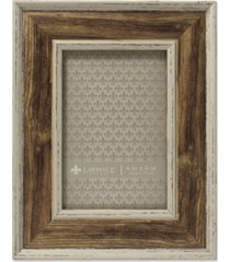 """lawrence frames weathered walnut picture frame - domed top - 4"""" x 6"""""""