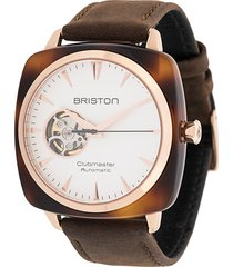 briston watches clubmaster iconic watch - white