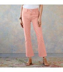 claudine pink quartz jeans