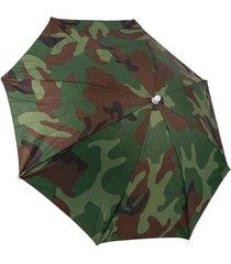 chapéu guarda-chuva thata esportes camuflado protetor camping passeio pesca praia - kanui