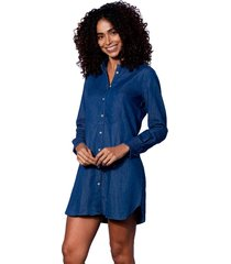 ldenim linen shirt dress