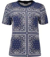 t-shirt allocer donkerblauw