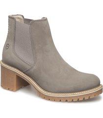 woms boots shoes boots ankle boots ankle boots with heel beige tamaris