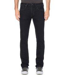 buffalo david bitton evan-x slim-fit straight jeans - indigo - size 38 30