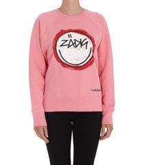 zadig & voltaire upper happy sweatshirt