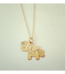 naszyjnik unicorn jednorożec