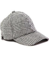 gorra negra tropea pied de poule