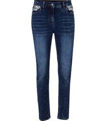 jeans elasticizzati con paillettes (nero) - bpc bonprix collection