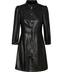 klänning vmbuttermolly above knee coated dress