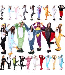 2017 new unisex adult pajamas anime onesie cosplay costume onesies sleepwear!