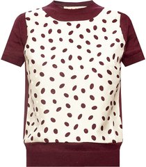 short-sleeved wool top