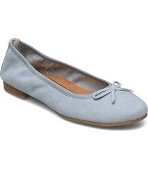 woms ballerina ballerinaskor ballerinas blå tamaris