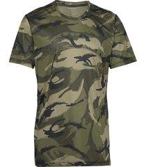 perf tee ax ax t-shirts short-sleeved grön björn borg