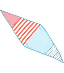 echo 23 americana striped diamond scarf