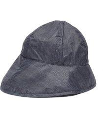 'veronica' water repellent denim effect bob hat