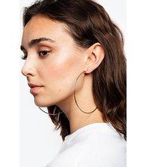 *gold large hoop earrings - gold