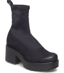dioon shoes boots ankle boots ankle boots with heel svart vagabond