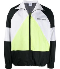 musterman multicolor track jacket yellow