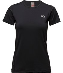 nora tee t-shirts & tops short-sleeved svart kari traa