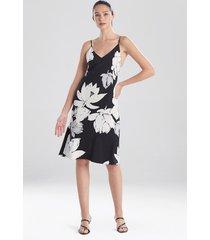 natori lotus slip dress sleepwear pajamas & loungewear, women's, size m natori
