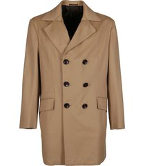 kiton beige cashmere coat