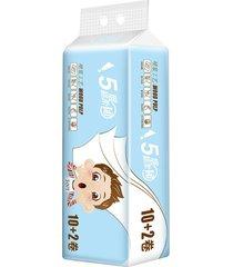 papel higiénico papel higiénico suave y tres capas gruesas de absorción de agua
