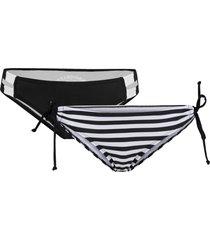 slip per bikini (pacco da 2) (nero) - rainbow